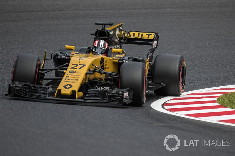 Ausfall: Nico Hülkenberg, Renault Sport F1 Team RS17