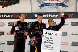 GTD podium: terceros #73 Patrick Lindsey, Jörg Bergmeister, Matt McMurry