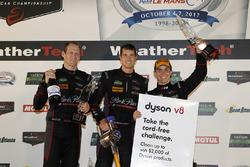 GTD podium: third place #73 Patrick Lindsey, Jörg Bergmeister, Matt McMurry