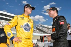Todd Gilliland, Kyle Busch Motorsports, Toyota; Kaz Grala, GMS Racing, Chevrolet