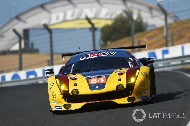LMGTE-Am: #84 JMW Motorsport, Ferrari 488 GTE