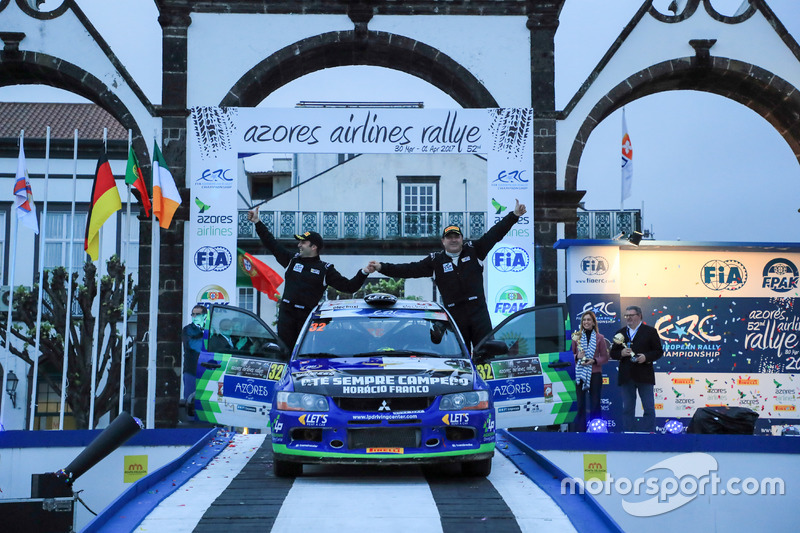 Luís Pimentel e Bruno Pimentel, Mitsubishi Lancer