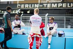 Mitch Evans, Jaguar Racing, José María López, DS Virgin Racing, Felix Rosenqvist, Mahindra Racing, N