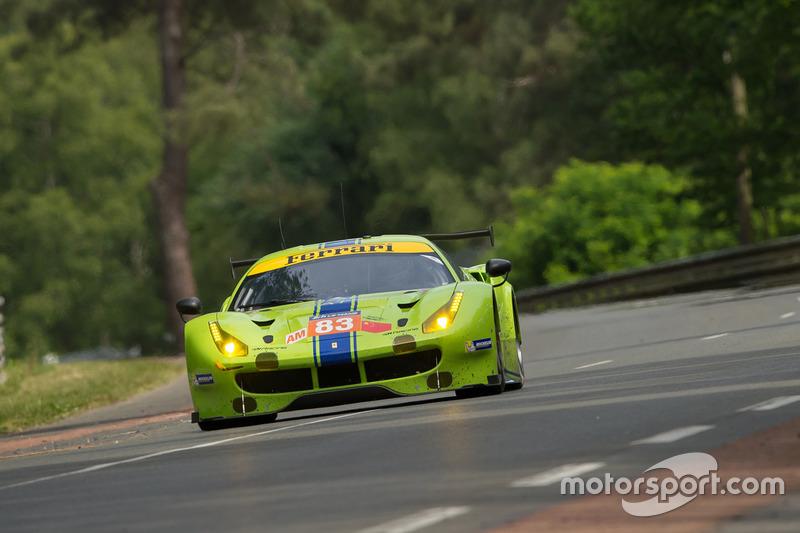13. LMGTE-Am: #83 DH Racing, Ferrari 488 GTE