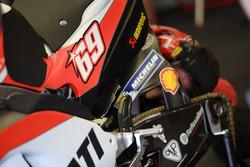 Ducati con il numero di Nicky Hayden