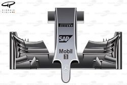 McLaren MP4-29 nose and front wing
