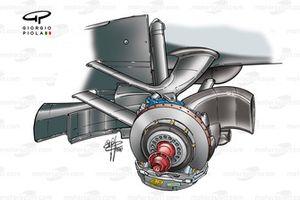 Передние тормоза McLaren MP4-16