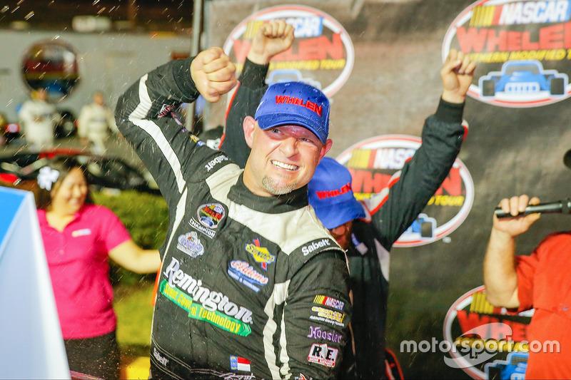 Race winner Burt Myers