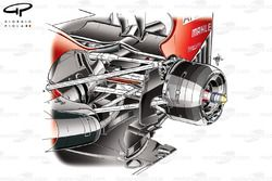 Ferrari F2012 rear brake detail