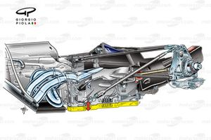 Red Bull RB5 2009 raised gearbox detail