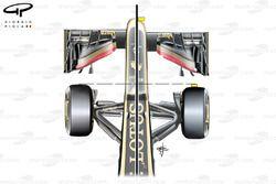 Modifications du nez de la Lotus E21, Italie