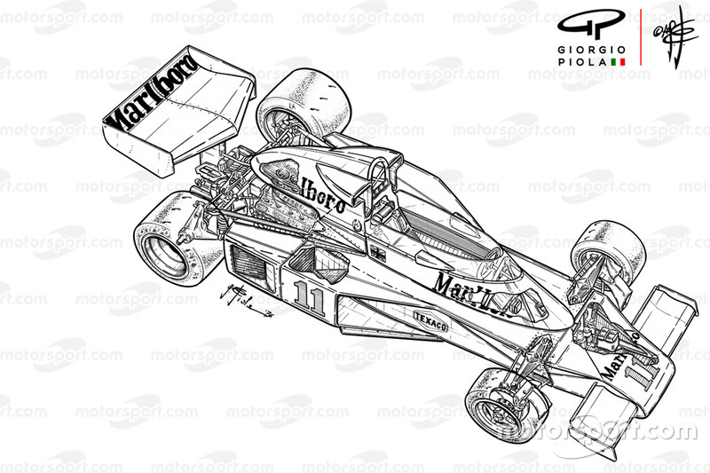 McLaren M23B detailed overview