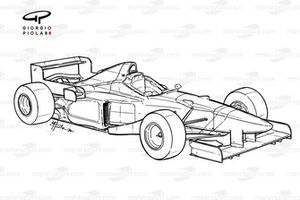 Benetton B196 1996 overview