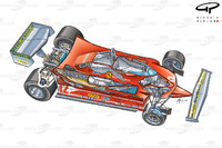 Ferrari 312T4, вид 3/4