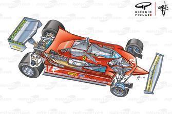 Ferrari 312T4 3/4 view