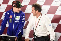 Maverick Viñales, Yamaha Factory Racing, mit Loris Capirossi