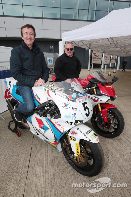 Freddie Spence and Wayne Gardner