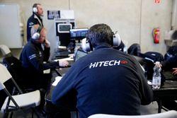 Team members of Hitech Grand Prix