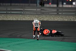 Saeed Al Sulaiti, QMMF Racing, crash