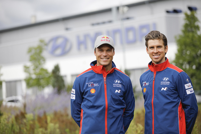 Andreas Mikkelsen and Anders Jäger, Hyundai Motorsport