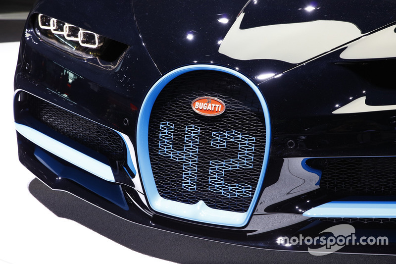 Bugatti Chiron 0-400-0 display