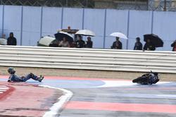 L'accident de Enea Bastianini, Estrella Galicia 0,0
