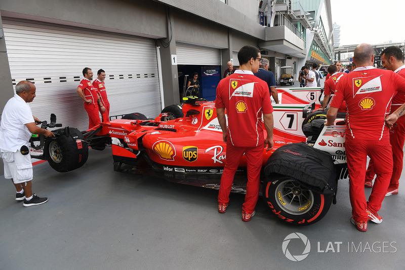 Meccanici Ferrari, Ferrari SF70H