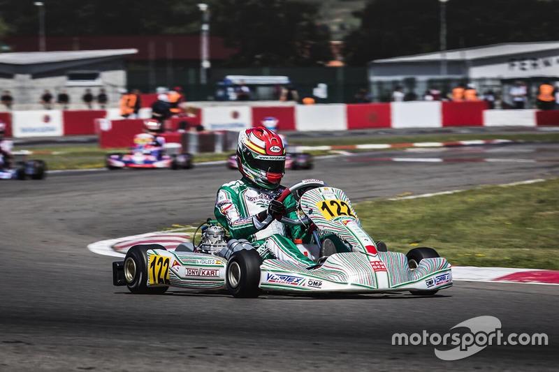 Circuito Karts Fernando Alonso : David vidales tony kart at cik fia campeonato de europa