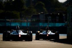 Jean-Eric Vergne, Techeetah, Mitch Evans, Jaguar Racing
