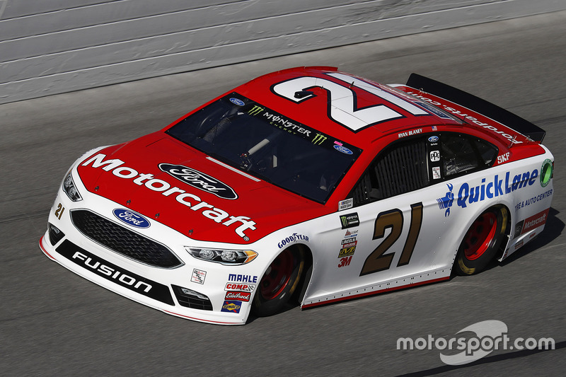 2. Ryan Blaney, Wood Brothers Racing, Ford