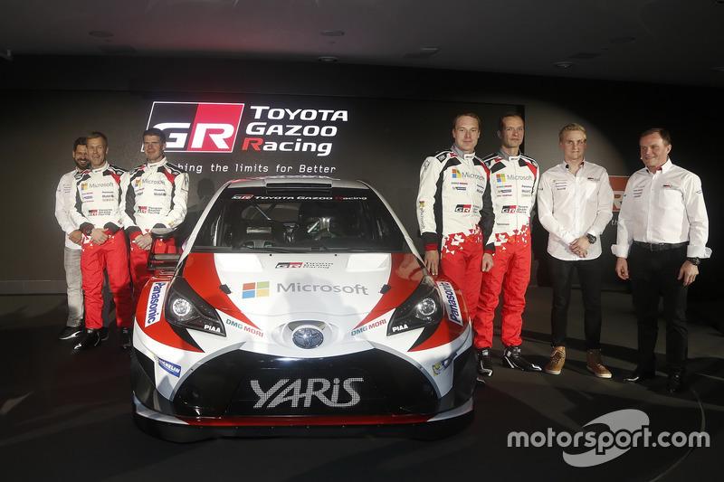 Kaj Lindström; Miikka Anttila; Jari-Matti Latvala; Juho Hänninen; Esapekka Lappi; Tommi Mäkkinen; Toyota Racing, Toyota Yaris WRC 2017