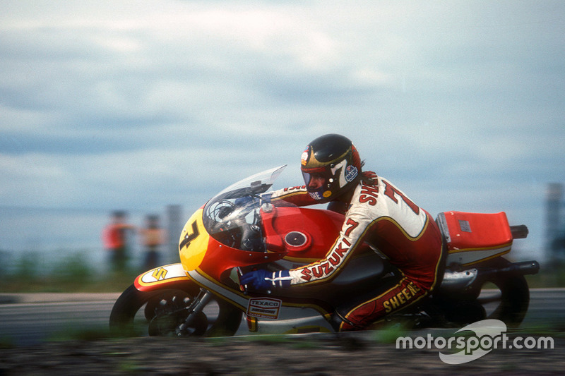 1976 - Barry Sheene, Suzuki