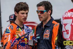 Jorge Prado y su padre, KTM Factory Racing