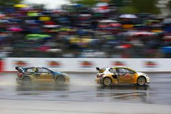 Kevin Hansen, Team Peugeot-Hansen Academy, Peugeot 208 WRX, Petter Solberg, PSRX Volkswagen Sweden,