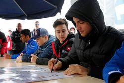 Petru Florescu, Motopark Dallara F317 - Volkswagen, Keyvan Andres Soori, Motopark, Dallara F317 - Vo