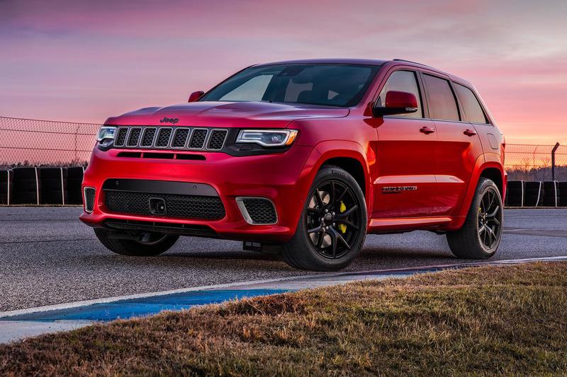 2018 Jeep Gran Cherokee Trackhawk