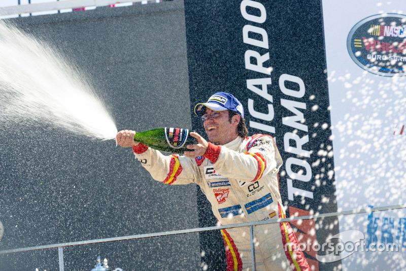 Ganador de la carrera Borja Garcia, Alex Caffi Motorsports