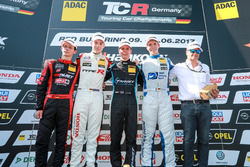 Podium: 1. Josh Files, Target Competition, Honda Civic Type R-TCR, 2. Moritz Oestreich, Honda Team A