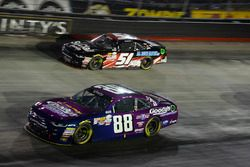 Dale Earnhardt Jr., JR Motorsports Chevrolet, Jeremy Clements, Jeremy Clements Racing Chevrolet