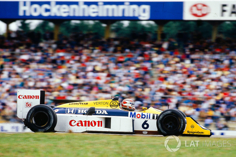 1987 Nelson Piquet, Williams