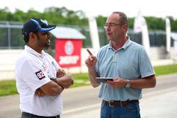 Bernhard Gobmeier, Volkswagen Group Motorsport director, Aadish Ahlawani, Volkswagen Motorsport India