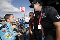 Marco Andretti, Andretti Autosport with Yarrow Honda, Mario Andretti, Bryan Herta