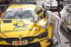 Le vainqueur Timo Glock, BMW Team RMG, BMW M4 DTM