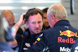 Christian Horner, Teamchef Red Bull Racing, Dr. Helmut Marko, Berater Red Bull