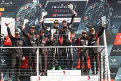 Podium: les vainqueurs Christian Engelhart, Mirko Bortolotti, GRT Grasser Racing Team, les deuxièmes Stuart Leonard, Robin Frijns, Team WRT, les troisièmes Will Stevens, Markus Winkelhock, Belgian Audi Club Team WRT