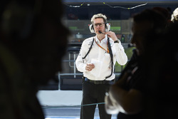 Andrew Shovlin, ingeniero jefe de Mercedes AMG F1
