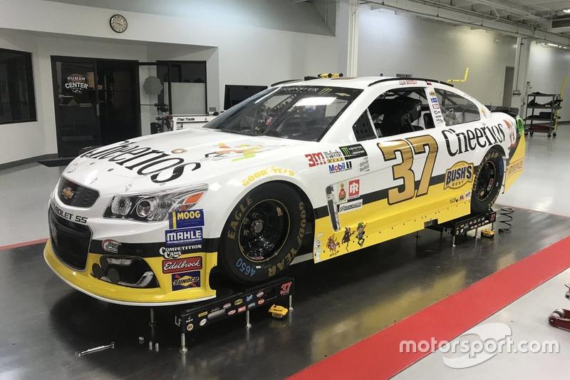 Throwback-Design: Chris Buescher, JTG Daugherty Racing Chevrolet