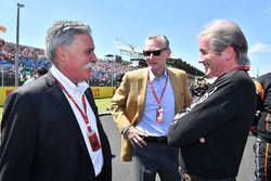 Chase Carey, Formel-1-Chef, Sean Bratches, Formel-1-Marketingchef, David Tremayne, Journalist