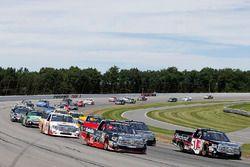 Kyle Busch, Kyle Busch Motorsports Toyota, Ben Rhodes, ThorSport Racing Toyota
