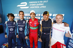 Nicolas Prost, Renault e.Dams, Sébastien Buemi, Renault e.Dams, Lucas di Grassi, ABT Schaeffler Audi